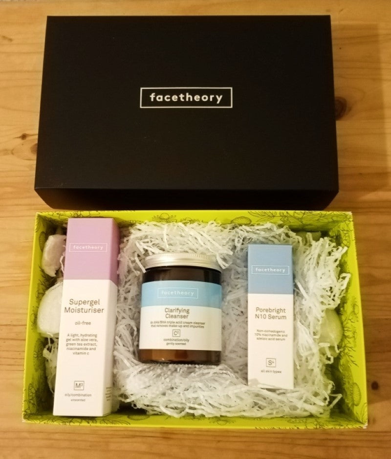 An honest review of the Facetheory Acne Range 2020/21 with Sabeena Ahmed
