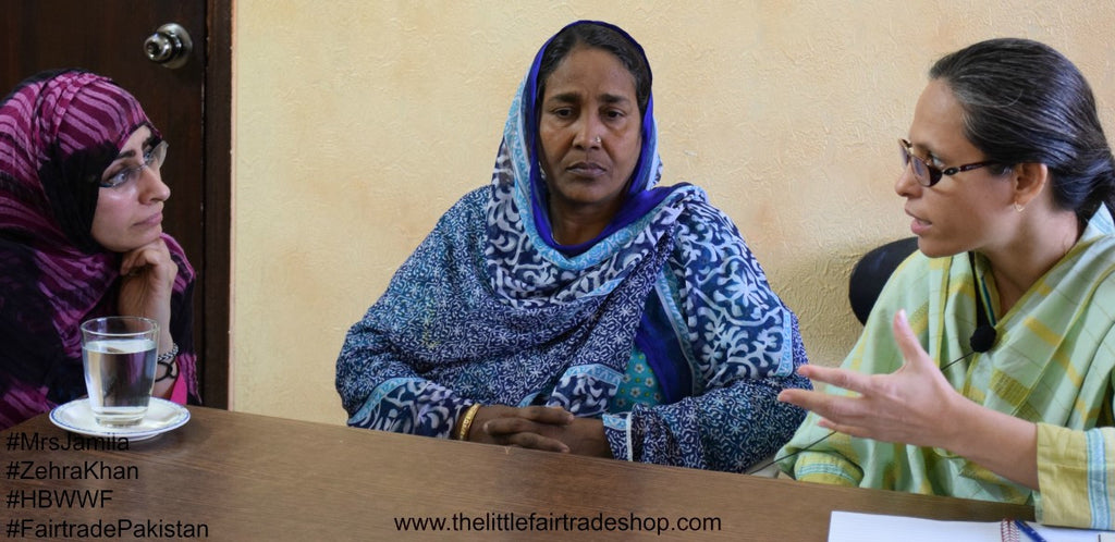 Interviews - Home Based Women's Workers Federation (HBWWF), Karachi, Pakistan, (2011 & 2015) FAIR TRADE PAKISTAN SERIES