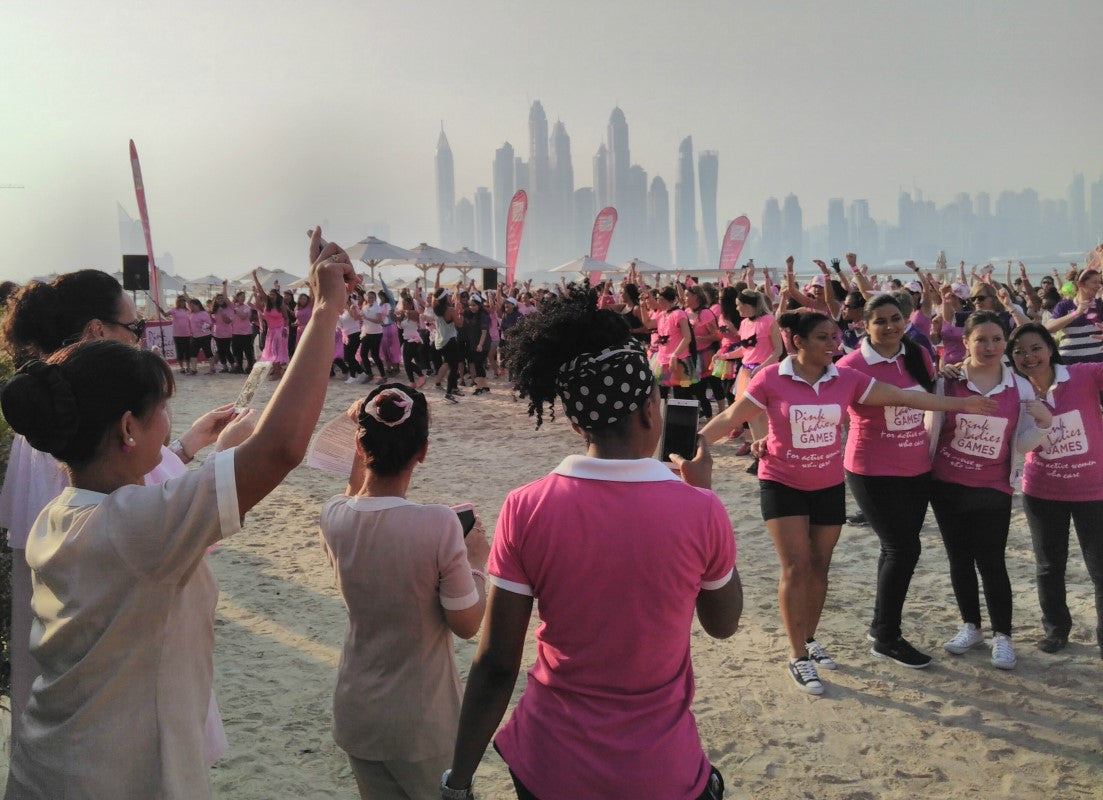 Fairtrade Goes Pink for Breast Cancer Awareness Month - Dubai, UAE and Manchester, UK