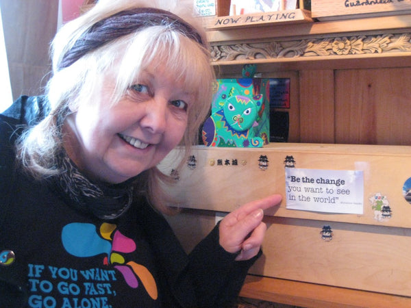 Fair Trade Pioneers - Rita Verity of Sonia's Smile, Haworth, United Kingdom