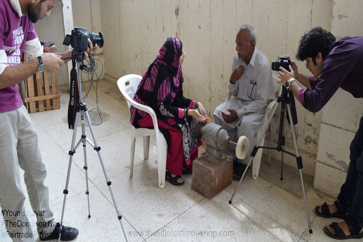 Interviews - The Dominion Traders, Karachi, Pakistan, (2011 & 2015), FAIR TRADE PAKISTAN SERIES