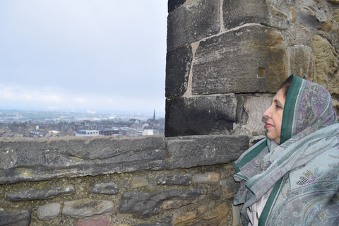 Meshar Mumtaz Bano at Edinburgh Castle - May 2014