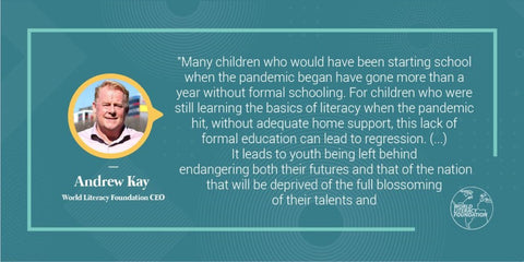 Special Message from CEO Andrew Kay - International Literacy Day 2021