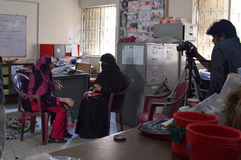 Interview with Haseena an entrepreneur, designer and advocate at the Ra'ana Liaquat Craftman's Colony, Karachi Pakistan (FAIRTRADE PAKISTAN SERIES) February 2015