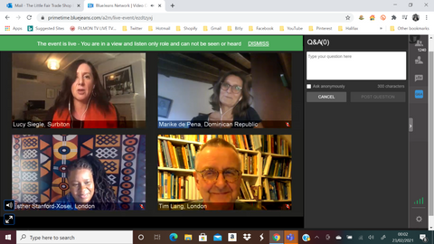 How is the climate crisis affecting the global food supply webinar hosted by the Guardian Online and the Fairtrade Foundation - 22 March 2021