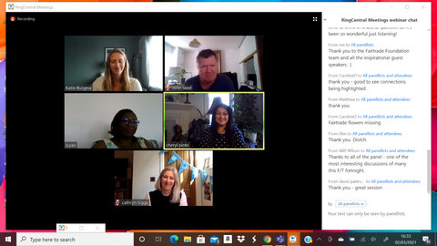 Fair Focus webinar, Fairtrade Fortnight 2021 - for an expert panel sharing their insights on how to build more climate resilient supply chains, and to hear the realities for producers who are on the front line of the climate crisis.