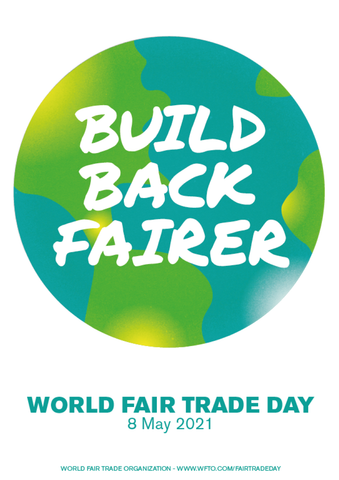 #Day26 It's World Fair Trade Day 2021! Last pics of the night. #fairtraderamadan #WorldFairTradeDay #BuildBackFairer #WFTD2021 & #FairTradeLocal with Sabeena Z Ahmed
