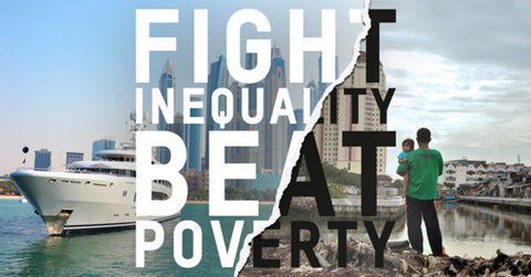 Fight Inequality Beat Poverty - DAVOS