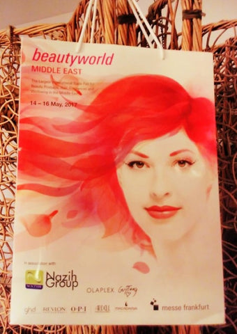 Beauty World Middle East Bag May 2017 visited by The Little Fair Trade Shop