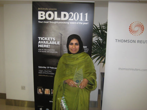 Sabeena Ahmed Creator and Founder of The Little Fair Trade Shop Winner of The BOLDtalks Open Mind Award 2011