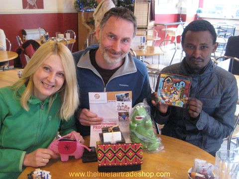 Chris Longden, Ian Agnew and Abiyot Sherifaw - The Lorna Young Foundation