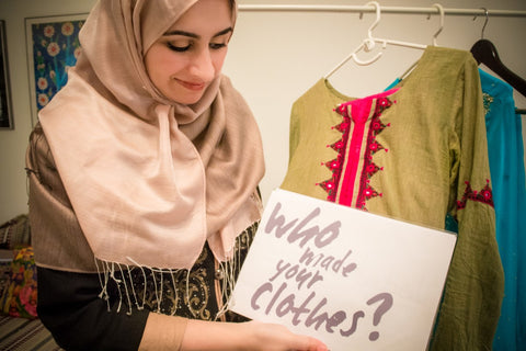 Sabeena Ahmed - The Little Fair Trade Shop - Six Items Challenge 2017 and Fashion Revolution Week 2017