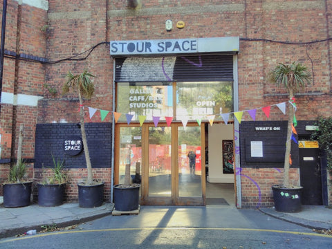 Day 4 Visit to Stour Space, Hackey Wick, London, Director Juliet Can presentation about Stour Space - 2nd August 2018