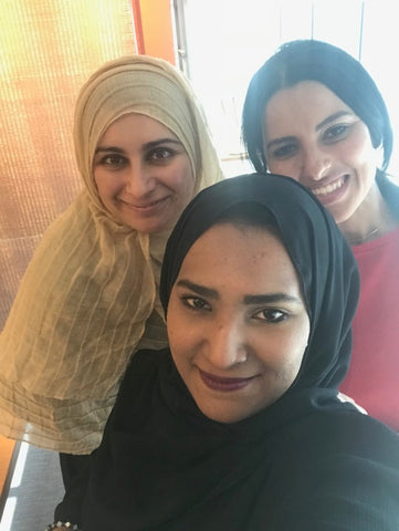 Day 5 - Farewells with Asma and Maryam Q.  BSEP and NAMA Sharjah, Sept 2018