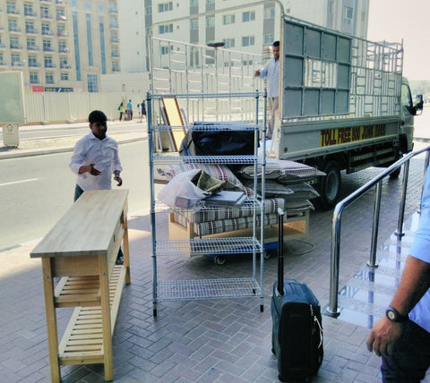 Take My Junk Truck UAE - Donating my furniture with Sabeena Ahmed