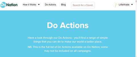Do Nation website