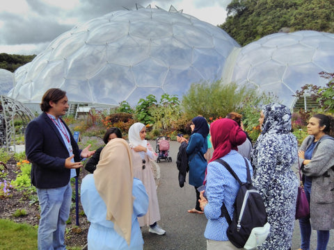 The Eden Project Tour with Dan Ryan, Group pic- BESP Academy visited August 2018