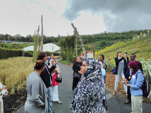 Eden Project Tour with Dan Ryan - BESP Academy visited August 2018