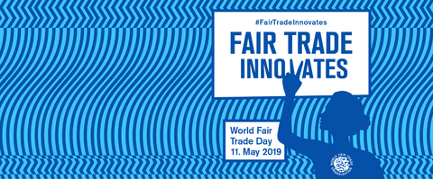 Fairtrade Innovates - Facebook Banner World Fair Trade Day 2019