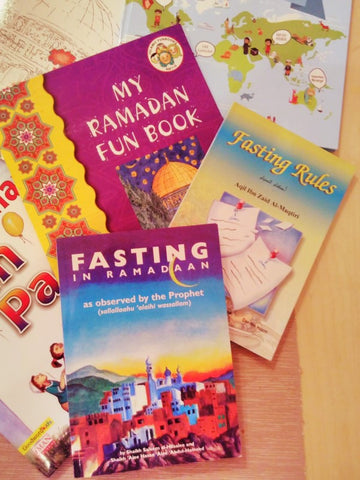 Fasting and Ramadan Books for children by The Little Fair Trade Shop May 2017