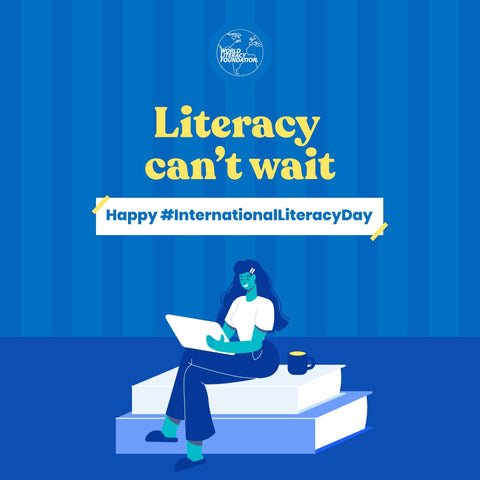 Literacy can't wait - International Literacy Day and the World Literacy Foundation Read-A-Thon 2021 with Sabeena Z Ahmed
