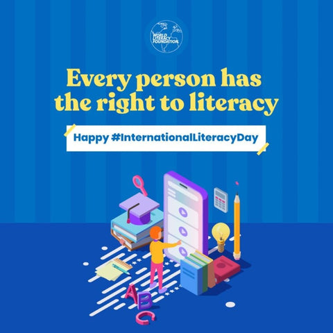 Every person has the right to literacy - International Literacy Day and the World Literacy Foundation Read-A-Thon 2021 with Sabeena Z Ahmed