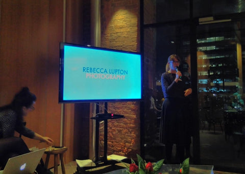 An Evening with Heart & Parcel, Photographer Rebecca Lupton promoting the cookbook and the process, visited December 2019