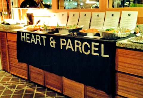 An Evening with Heart & Parcel, the Heart and Parcel Banner - December 2019