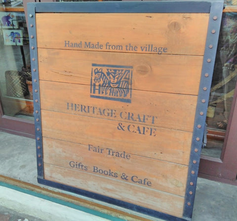 Heritage Craft and Cafe Bangkok - Visited by Sabeena Ahmed June 2018
