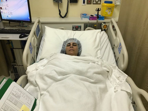 Sabeena Ahmed recovering from surgery