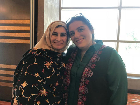 BSEP, NAMA, SSE London Graduation Ceremony, 2019, Sabeena Ahmed with Lina Hamdan BSEP and NAMA,  Sharjah Golf and Shooting Club, UAE
