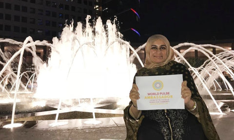 Sabeena Ahmed - World Pulse Ambassador UAE