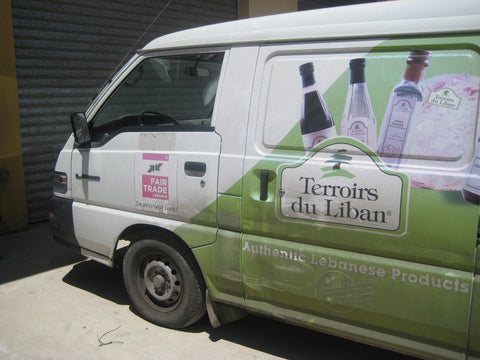The Fair Trade Lebanon Van - The little Fair Trade Shop