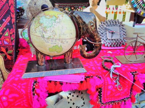 Fairtrade Elephant Globe at the Swiss Business Council Xmas Market 2018