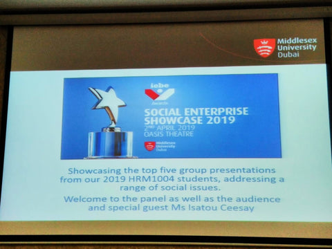 Middlesex University Dubai  Social Enterprise Showcase April 19