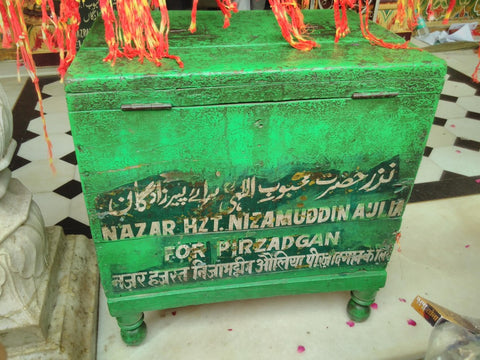Nizamuddin Auliya's shrine, Dehli, India visited April 2019