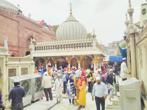 Nizamuddin Auliya's shrine, Dehli, India, April 2019