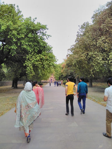 Humayun Tomb's Ground, Dehli, visited April 2019