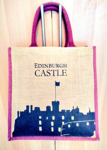 My Edinburgh jute bag - Plastic Free July, break free from plastic Dxb