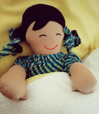 Fair Trade Ethical Ramadan 2021, fairtrade doll produced by M.E.S.H, New Dehli, India, with Sabeena Ahmed