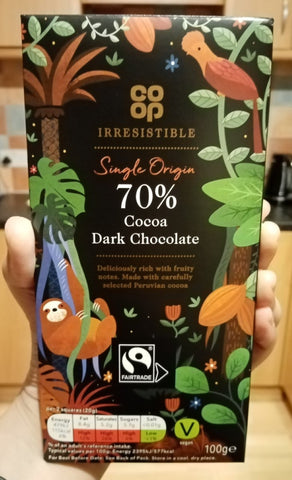 The Little Fair Trade Blog, Co-op Irresistible Dark Chocolate, Celebrating Fairtrade Ethical Ramadan 2021 with Sabeena Ahmed