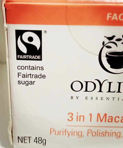 Fair Trade Ethical Ramadan 2021, Odylique 3 in 1 Maca Mask with fairtrade certified sugar with Sabeena Ahmed
