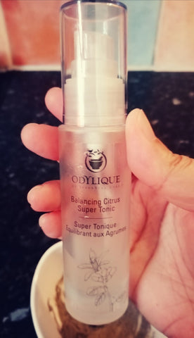 The Little Fair Trade Blog, review of Odylique 3 in 1 Maca Mask and Odylique Balancing Super Tonic with Sabeena Ahmed