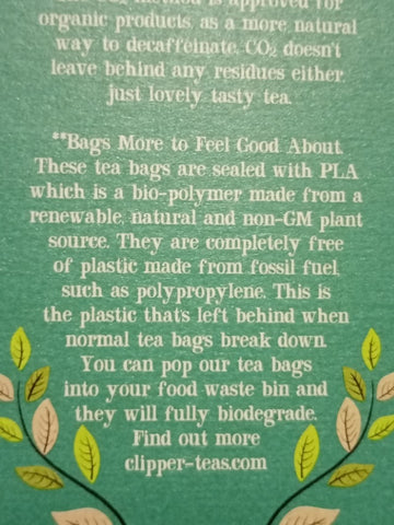 The Little Fair Trade Blog, Plastic Free July 2021, Plastic Fossil Fuel and biodegradable tea bags with Sabeena Z Ahmed