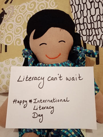 Literacy can't wait! International Literacy Day 2021 with Sabeena Z Ahmed