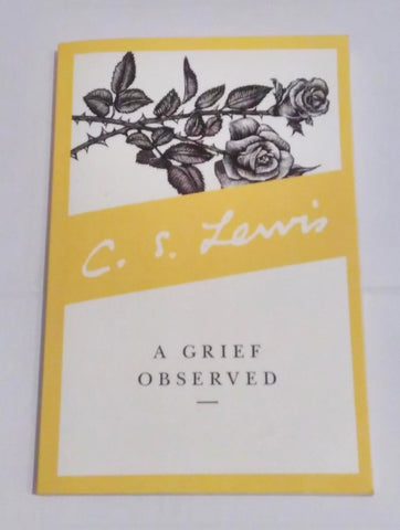 A Grief Observed Book Cover - C S Lewis