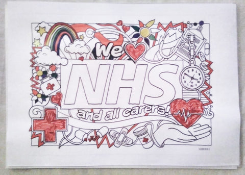 NHS poster unfinished - Sabeena Ahmed