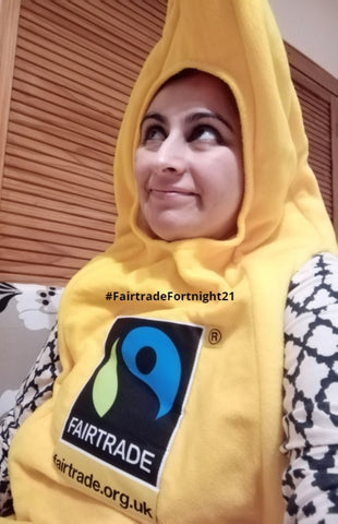 Supporting fairtrade banana producers for fairtrade fortnight 21 - Sabeena Ahmed