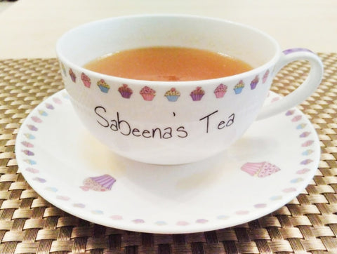 Special Herbal Tea for menstruation recipe by Sabeena Ahmed and The Little Fair Trade Shop