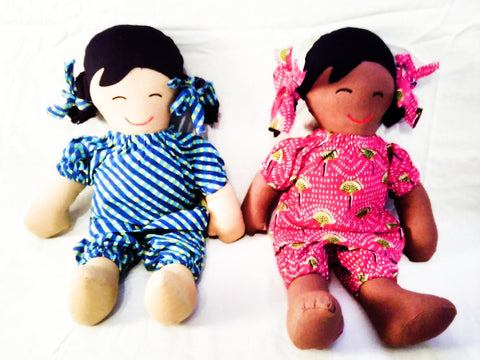 Fairtrade M.E.S.H dolls produced by Fairtrade Producers M.E.S.H, Dehli, India visited by Sabeena Ahmed, April 2019